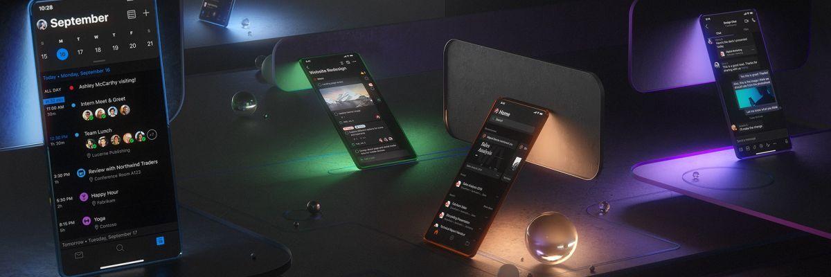 Le mode sombre arrive sur Outlook, Word & Excel (Android, iOS et Web)