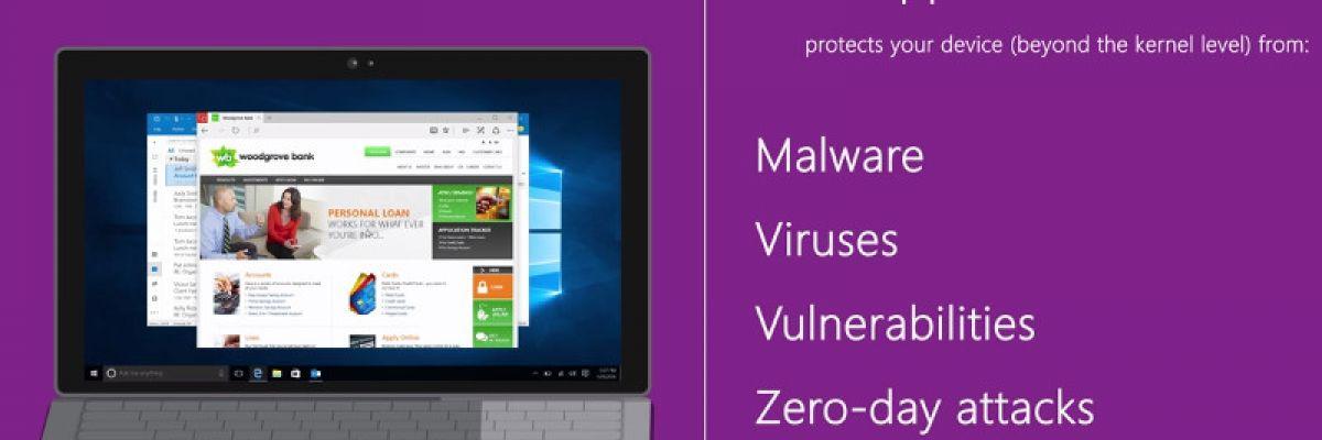 [Ignite 2016] : Microsoft Edge intégrera Windows Defender