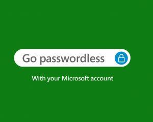 Se connecter à votre compte Microsoft avec un mot de passe devient optionnel