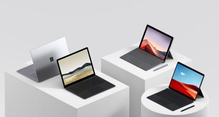 Surface Pro 7, Laptop 3 et Book 3 : grosse réduction sur le Microsoft Store !