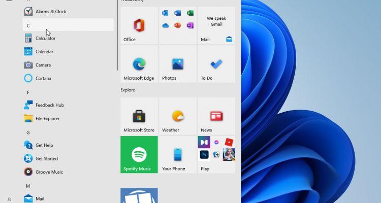 Windows 11 : comment réactiver l'ancien Menu Démarrer (de Windows 10) ?
