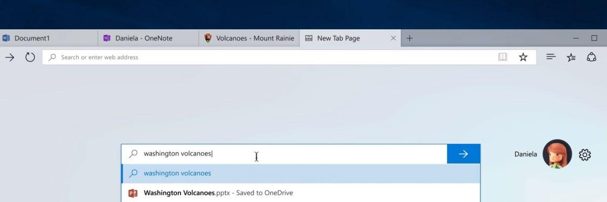 Découvrez Windows 10 Sets : naviguer par onglets entre applications et pages Web