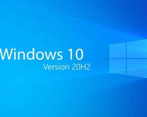La mise à jour de fonctionnalité vers Windows 10, version 20H2, est disponible !