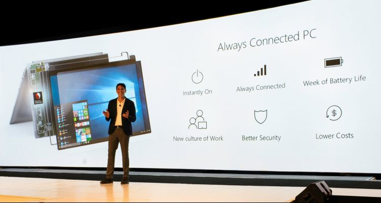 Qualcomm officialise les premiers PC « Always Connected » sous Windows 10 (ARM)