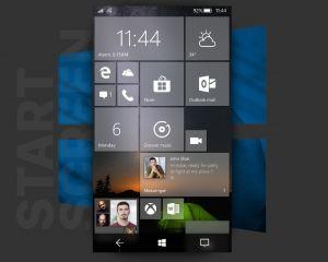 Un magnifique concept de Windows 10 Mobile avec Fluent Design