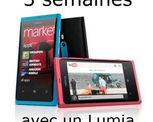 Trois semaines avec un Lumia 800 : partie 1
