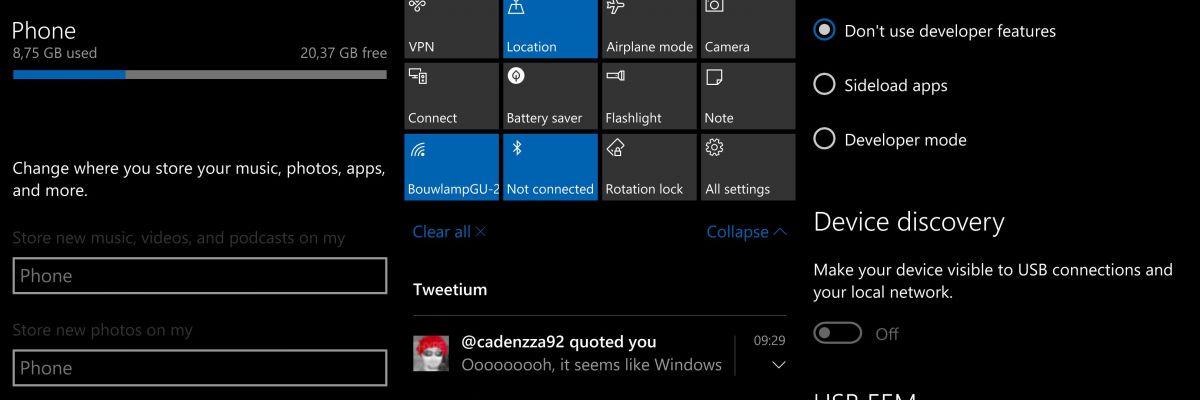 Windows 10 Mobile : la Build 10536 téléchargée par plusieurs utilisateurs !