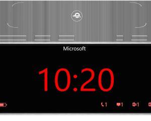Microsoft Sculpt Aura : concept d'un radio-réveil fait pour WP