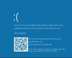 KB5000802 : un bug cause un écran bleu après l'impression d'un document