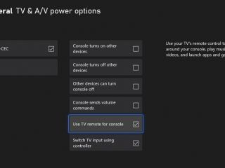 Contrôler la Xbox depuis la télécommande de la TV, c'est pour bientôt !