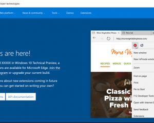 Microsoft Edge supportera les extensions Google Chrome