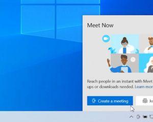 Avec Meet Now, rejoindre un appel vidéo se fera nativement sur Windows 10