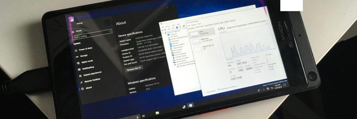 Installer Windows 10 ARM sur le Lumia 950 XL, c'est maintenant possible !
