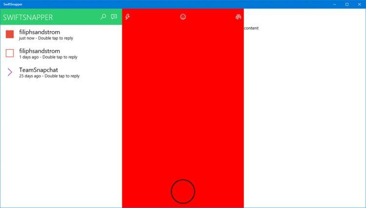 Snapchat : une application open source en cours de développement ?