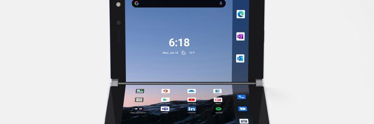 Le Surface Duo 2 aura-t-il un écran pliable ? Un nouveau brevet a été découvert