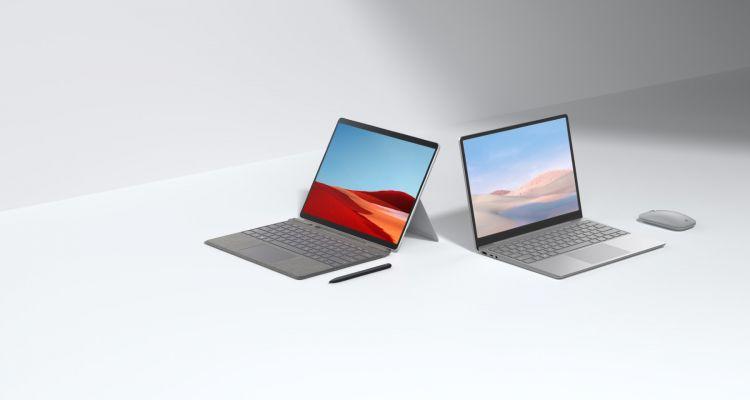 Jusqu'à 500€ de reprise pour l'achat du Surface Laptop Go ou de la Surface Pro X