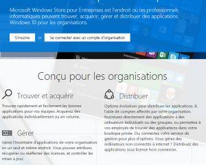 Microsoft ouvre son Windows Store for Business dans une formule bêta