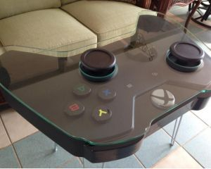 [Insolite] Xbox One : une jolie table basse en forme de manette de jeu