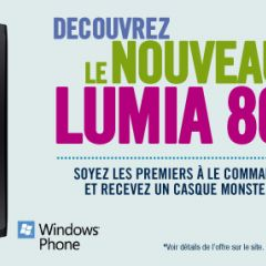 Prix du Nokia Lumia 800 : à partir de 99€ chez The Phone House [MAJ]