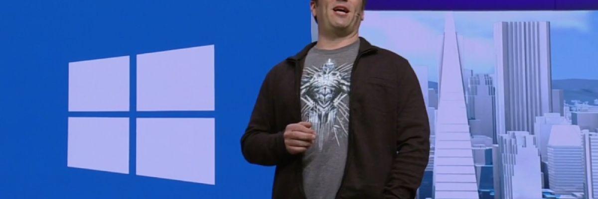 """[Build 2016] Xbox One profitera donc de la màj """"anniversaire"""" de Windows 10"""