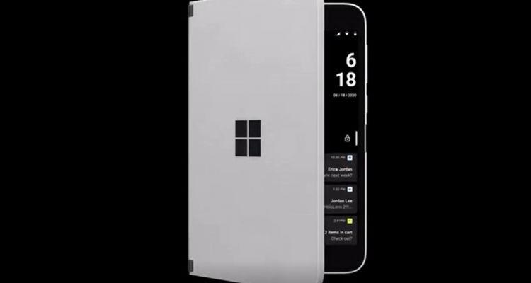 """Surface Duo : Microsoft compte lui intégrer la fonctionnalité """"Coup d'oeil"""""""