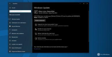 KB5004945 : une mise à jour à installer d'urgence sur votre PC