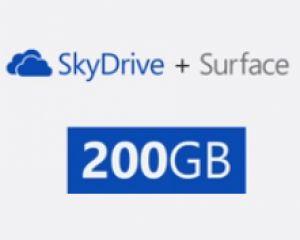 Les 200 Go pour SkyDrive sont disponibles pour 74€ par an