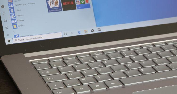 15% de réduction sur cette version du Surface Laptop exclusive au MS Store
