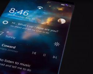 Voici la vidéo d'un nouveau concept de Surface Phone avec Fluent Design