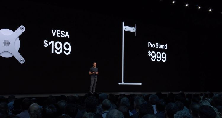 Malaise : le support du nouvel écran d'Apple coûte le prix d'une Surface Pro !