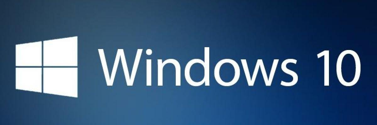 Windows 10 : une mise à jour cumulative est disponible pour tous (KB3201845)