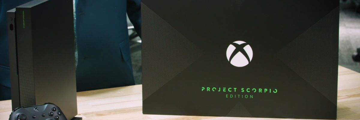 Envie de découvrir l'unboxing de la Xbox One X Project Scorpio ?