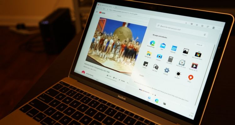 Insolite : Windows 10X fonctionne aussi sur le MacBook