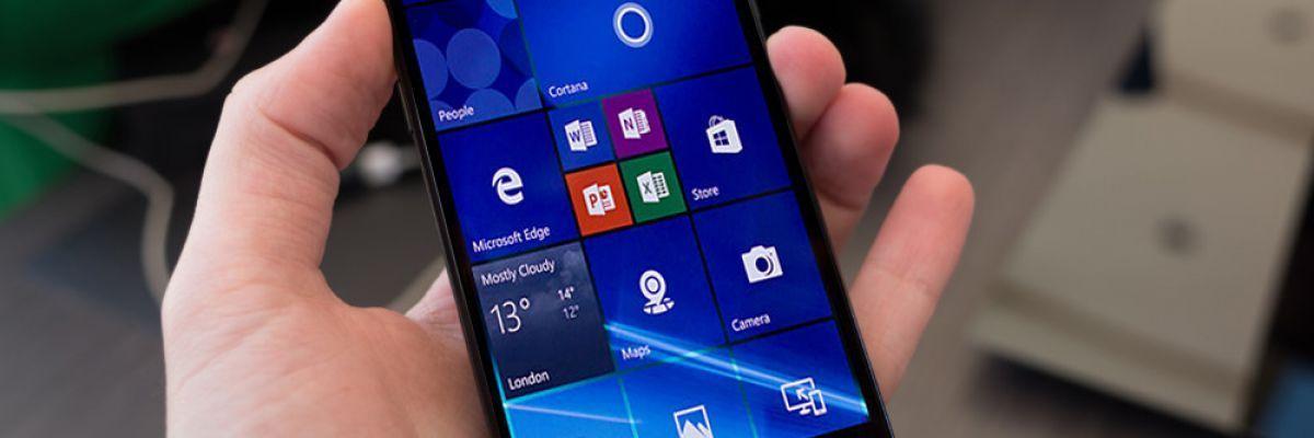 Une nouvelle mise à jour de sécurité est disponible sur Windows 10 Mobile