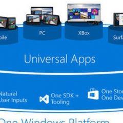 "Microsoft a présenté sa ""Windows 10 Universal App Platform"""
