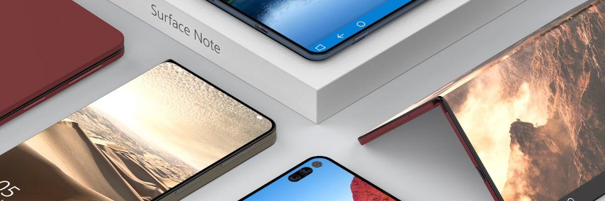 Surface Note : un concept très réussi de l'appareil ultime de Microsoft