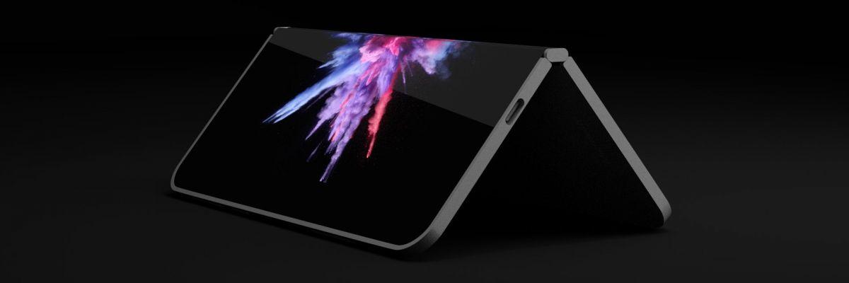 """Un concept impressionnant du """"Surface Phone"""" basé sur les derniers brevets"""