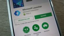 Microsoft Launcher (beta) passe en version 5.5 sur Android