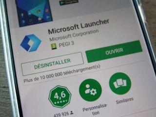 Microsoft Launcher passe en version 5.5 sur Android