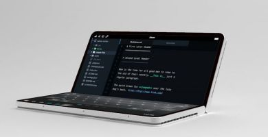 Microsoft Surface Fold : sortie pour 2020 et support des applications Android ?
