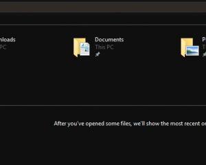 Insiders : le thème sombre finalisé dans l'explorateur de fichiers de Windows 10