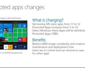 Bientôt plus (+) de suggestions d'applications sur Windows 10