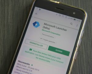 Nouvelle version de Microsoft Launcher pour Android