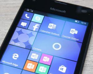 Test du Microsoft Lumia 550 sous Windows 10 Mobile