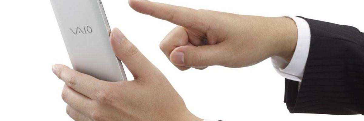 Le VAIO Phone Biz : le premier téléphone sous Windows 10 Mobile du constructeur