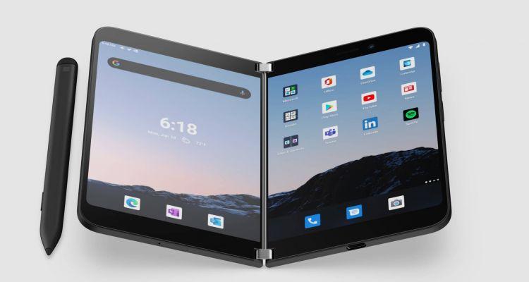 Surface Duo 2 : des rendus nous montrent ce à quoi il devrait ressembler