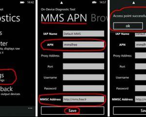 [Tuto] Configurer les MMS sur le Nokia Lumia 800 avec Free Mobile
