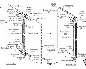 Microsoft : nouveau brevet pour un smartphone avec deux écrans