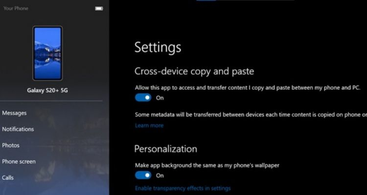 Copier une photo sur Windows 10 et la coller sur Android, c'est possible