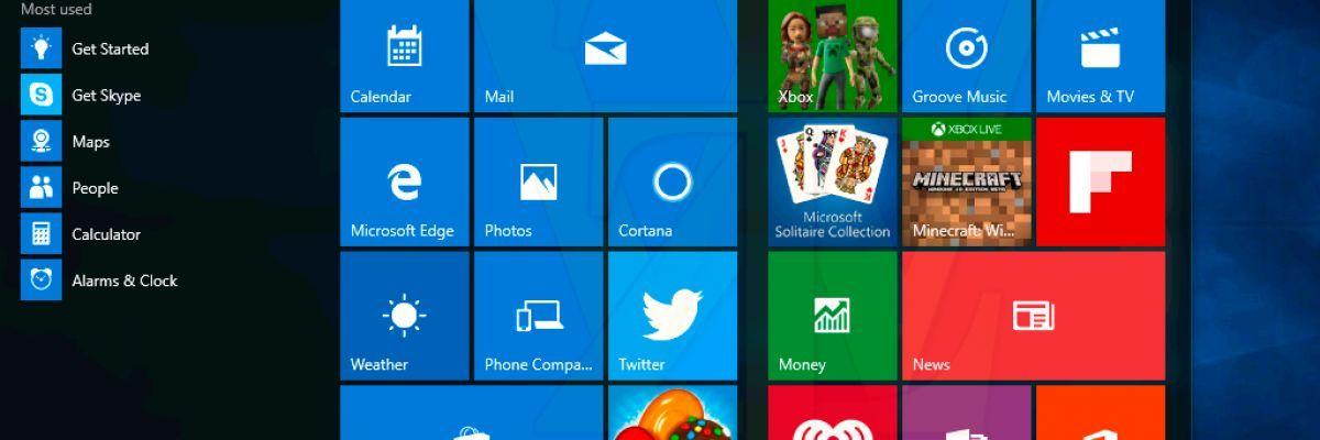 Bientôt la fin des tuiles dynamiques (Live Tiles) sur Windows 10 ?